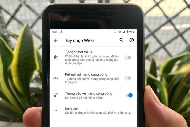 Cách tắt tính năng bật Wi-Fi tự động trên điện thoại Android - 1