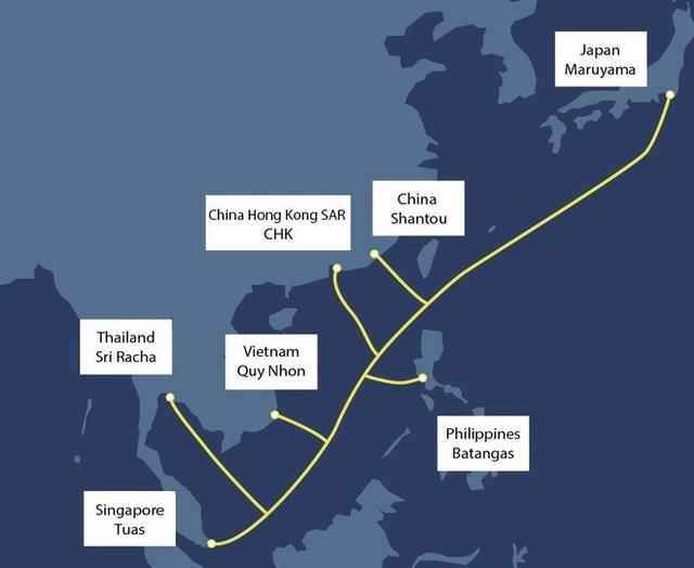 Sắp có tuyến cáp quang biển mới chạy qua Việt Nam và khu vực ĐNA - 1