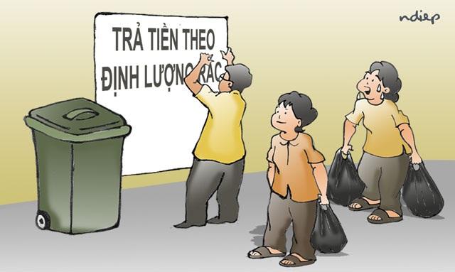 Người nghèo trả tiền xử lý rác cho người giàu là bất công xã hội! - 1