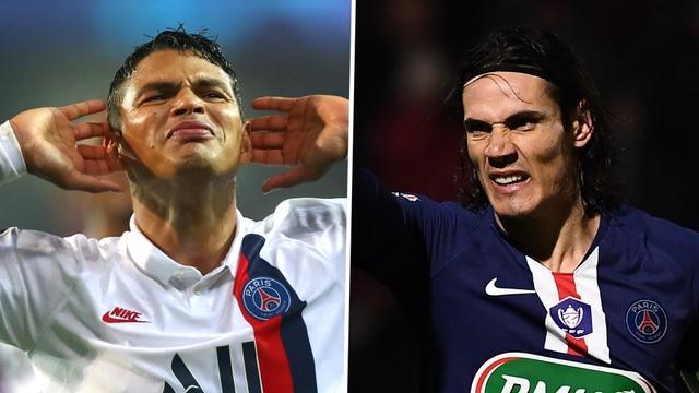PSG chia tay hai ngôi sao Thiago Silva và Cavani - 1