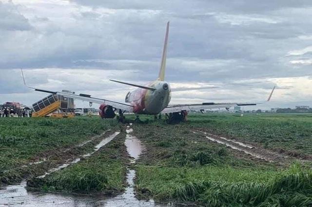 """Bộ trưởng Giao thông: """"Máy bay trượt khỏi đường băng lỗi lớn do phi công!"""" - 2"""