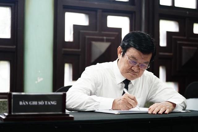 Lãnh đạo Đảng, Nhà nước viếng nhà tình báo huyền thoại Trần Quốc Hương - Ảnh minh hoạ 6