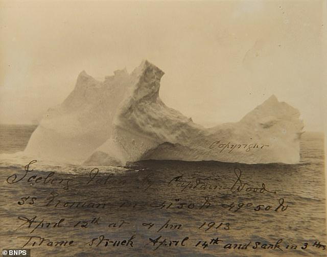 """""""Chân dung"""" tảng băng trôi khiến tàu Titanic bị chìm - 1"""