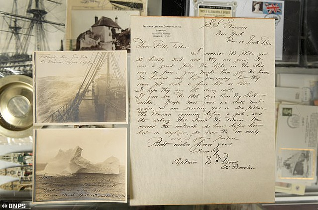 """""""Chân dung"""" tảng băng trôi khiến tàu Titanic bị chìm - 3"""
