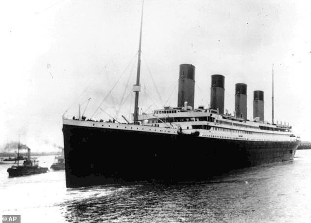 """""""Chân dung"""" tảng băng trôi khiến tàu Titanic bị chìm - 4"""