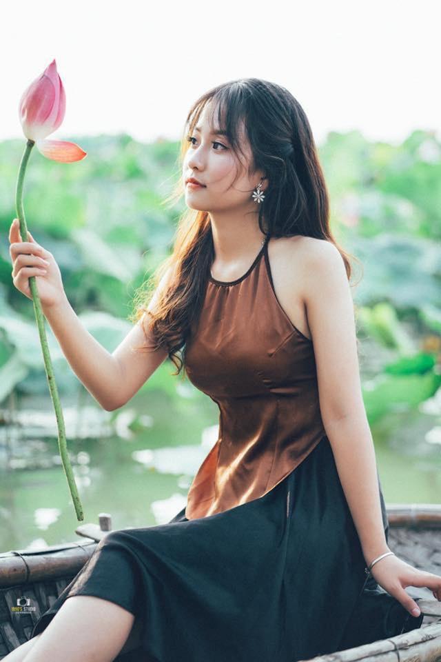 """Nữ sinh Thái Nguyên sở hữu vẻ đẹp đúng chuẩn """"thanh xuân vườn trường"""" - 10"""