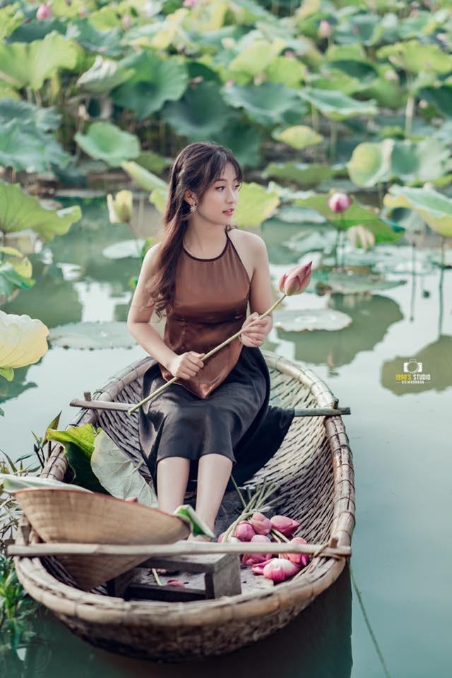 """Nữ sinh Thái Nguyên sở hữu vẻ đẹp đúng chuẩn """"thanh xuân vườn trường"""" - 11"""