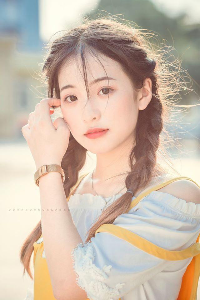 """Nữ sinh Thái Nguyên sở hữu vẻ đẹp đúng chuẩn """"thanh xuân vườn trường"""" - 4"""
