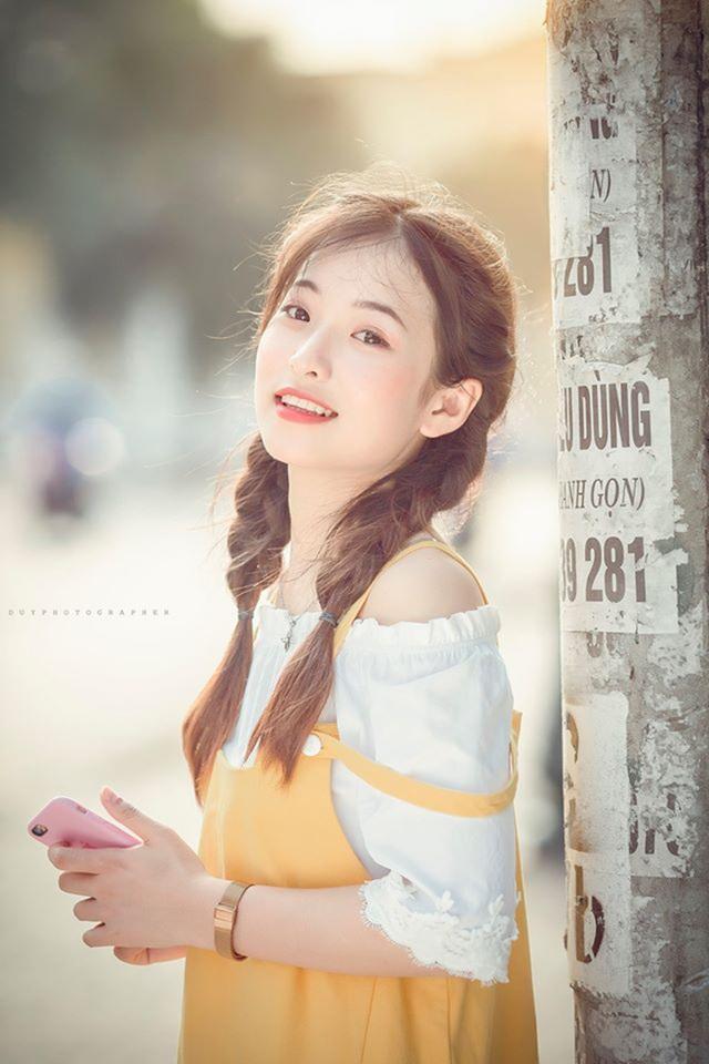 """Nữ sinh Thái Nguyên sở hữu vẻ đẹp đúng chuẩn """"thanh xuân vườn trường"""" - 5"""