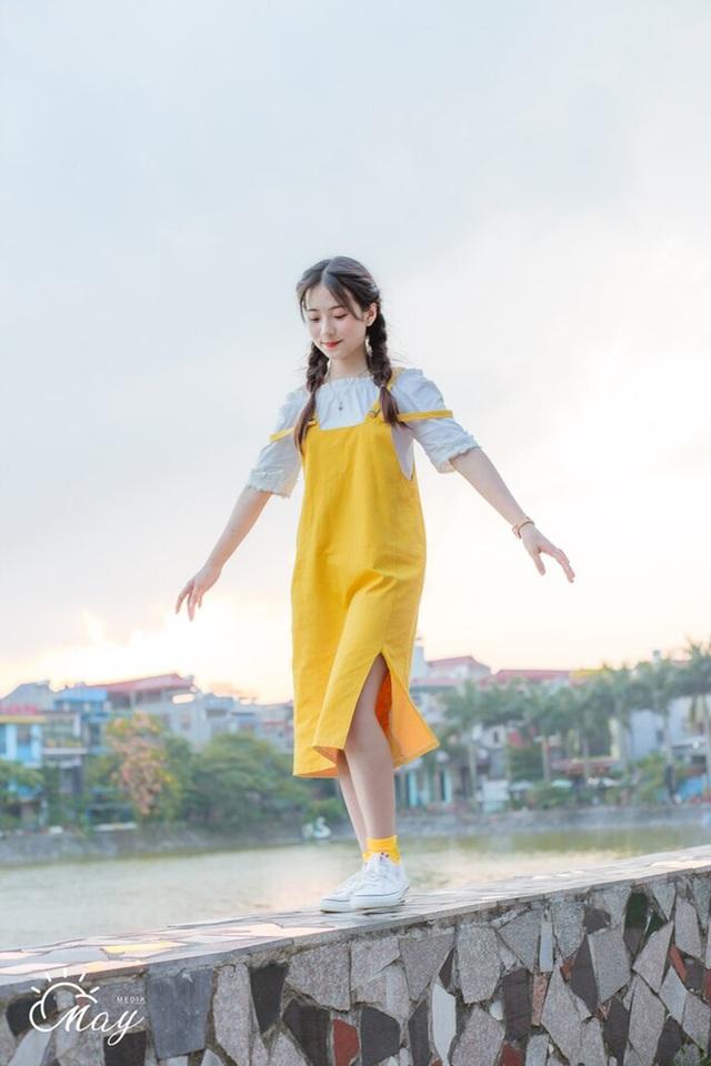 """Nữ sinh Thái Nguyên sở hữu vẻ đẹp đúng chuẩn """"thanh xuân vườn trường"""" - 7"""