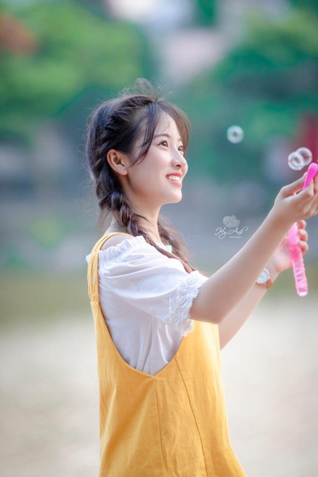 """Nữ sinh Thái Nguyên sở hữu vẻ đẹp đúng chuẩn """"thanh xuân vườn trường"""" - 8"""