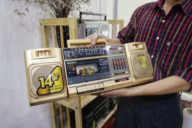 Choáng ngợp bộ sưu tập 1.200 chiếc đài cassette độc nhất vô nhị Việt Nam - 13
