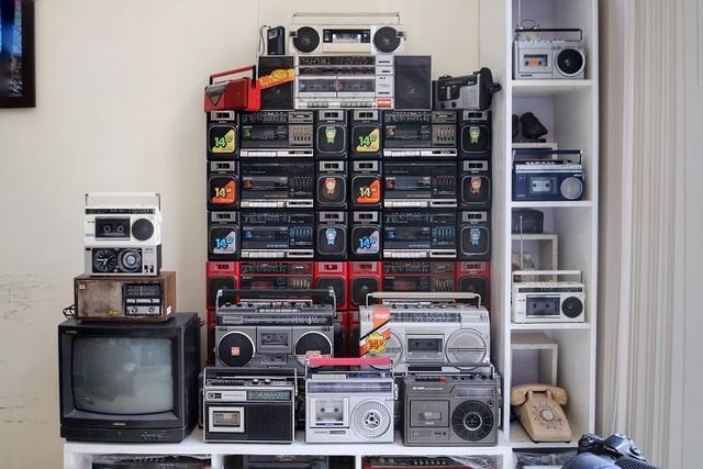 Choáng ngợp bộ sưu tập 1.200 chiếc đài cassette độc nhất vô nhị Việt Nam - 4