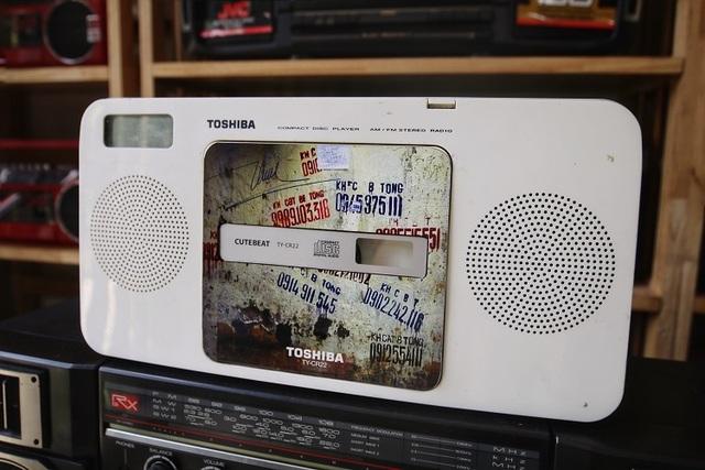 Choáng ngợp bộ sưu tập 1.200 chiếc đài cassette độc nhất vô nhị Việt Nam - 8