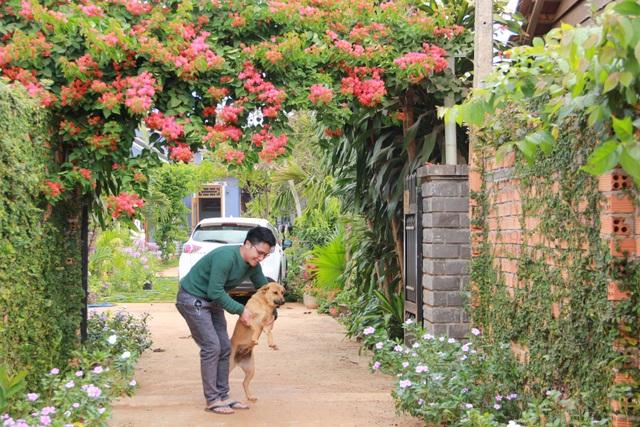 Nhà vườn 390 triệu đồng của con trai xây tặng mẹ dưỡng già ở Đắk Nông - 11