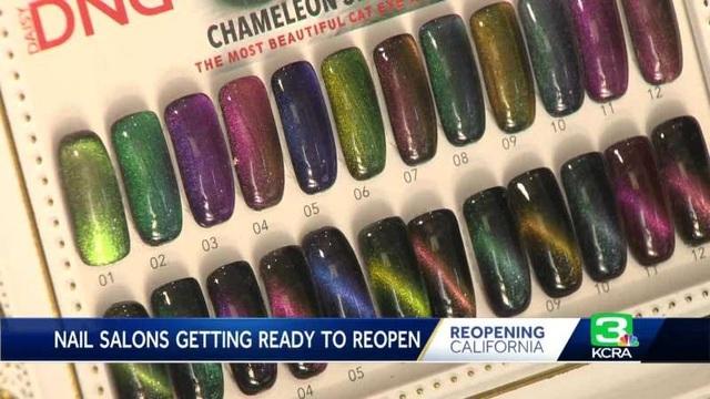 California cho mở cửa lại tiệm nail, chủ tiệm gốc Việt bớt căng thẳng - 1