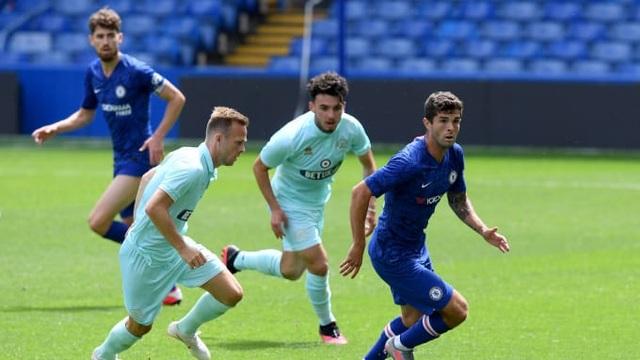 Pulisic trở lại sau 6 tháng, Chelsea thắng 7 bàn trước QPR - 9