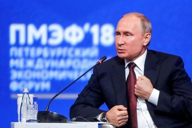 Tổng thống Putin: Nga là số một thế giới về phát triển vũ khí tối tân - 1