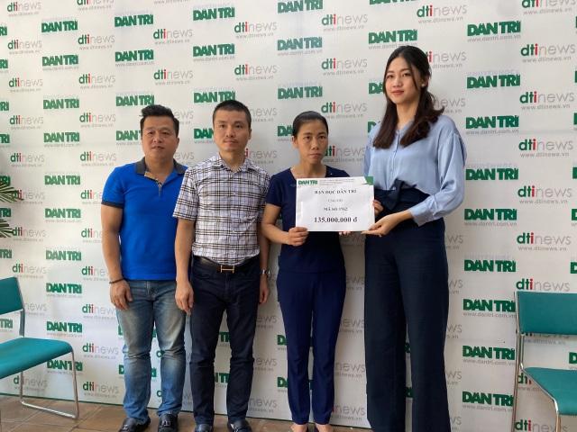 Gia đình Á hậu Thanh Tú dùng toàn bộ tiền sinh nhật con trai làm từ thiện - 2