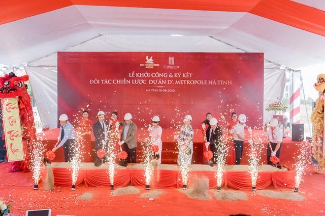 D'. Metropole Hà Tĩnh góp phần làm thay đổi diện mạo của thành phố Hà Tĩnh - 1
