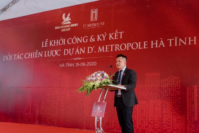 D'. Metropole Hà Tĩnh góp phần làm thay đổi diện mạo của thành phố Hà Tĩnh - 2