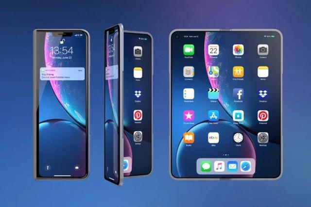 Hé lộ bất ngờ về mẫu iPhone màn hình gập của Apple - 1