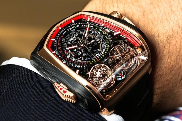 Chiếc đồng hồ dành cho chủ xe Bugatti Chiron có giá bằng 5 chiếc S-Class - 1