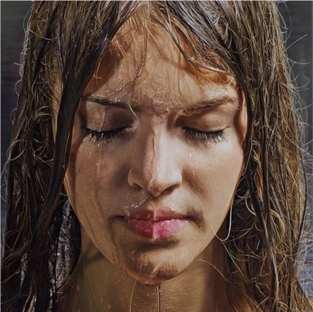 Kinh ngạc những bức tranh chân dung thiếu nữ thật hơn cả... ảnh thực - 7
