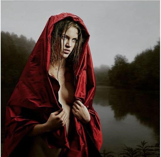 Kinh ngạc những bức tranh chân dung thiếu nữ thật hơn cả... ảnh thực - 8