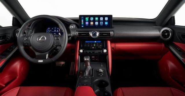 Lexus IS phiên bản nâng cấp 2021 có gì khác xe đời cũ? - 8