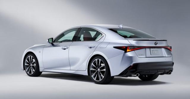 Lexus IS phiên bản nâng cấp 2021 có gì khác xe đời cũ? - 6