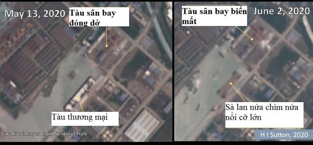Tàu sân bay đóng dở của Trung Quốc biến mất bí ẩn - 2