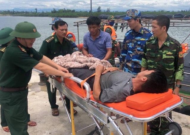 Biên phòng cứu hộ kịp thời thuyền viên bị viêm ruột thừa trên biển - 1