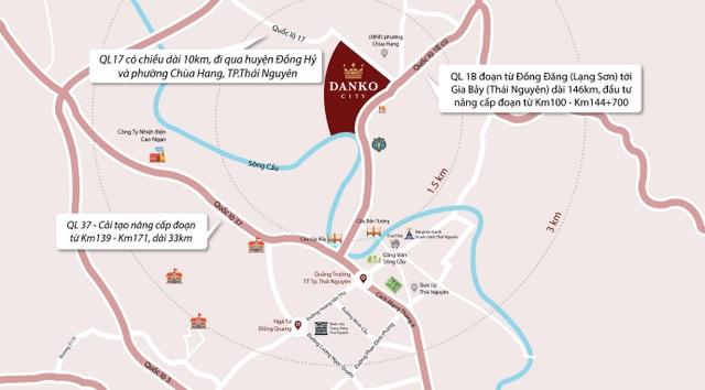 Cơ hội sở hữu nhà liền kề, nhận xe sang tại dự án Danko City Thái Nguyên - 3