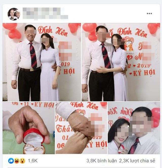 """Cho thôi việc """"thầy giáo 53 tuổi đang có vợ, đính hôn với học trò cũ"""" - 1"""