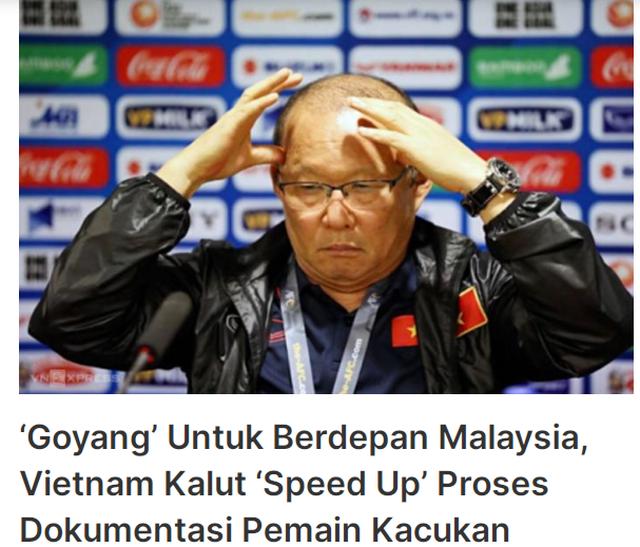 """Báo Malaysia: """"Đội tuyển Việt Nam đang tuyệt vọng"""" - 1"""