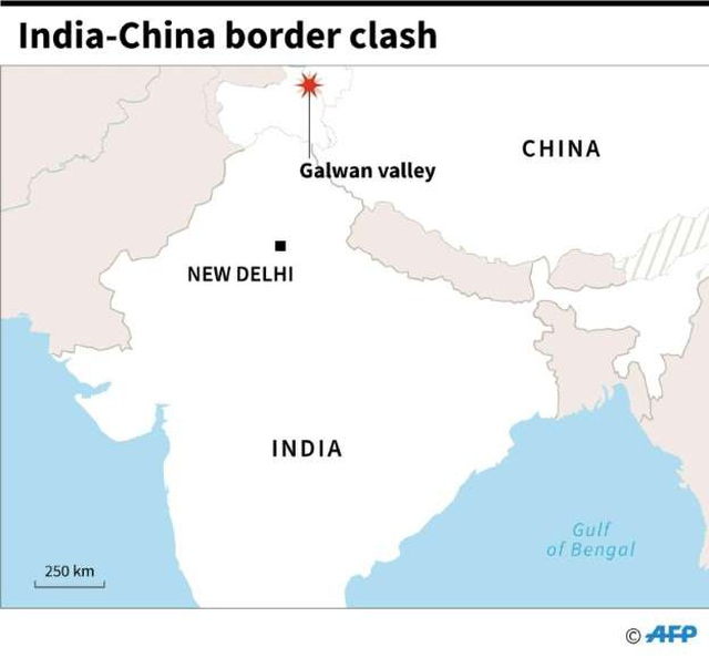 Ấn Độ nói 43 binh sĩ Trung Quốc thương vong trong vụ đụng độ ở biên giới - 2