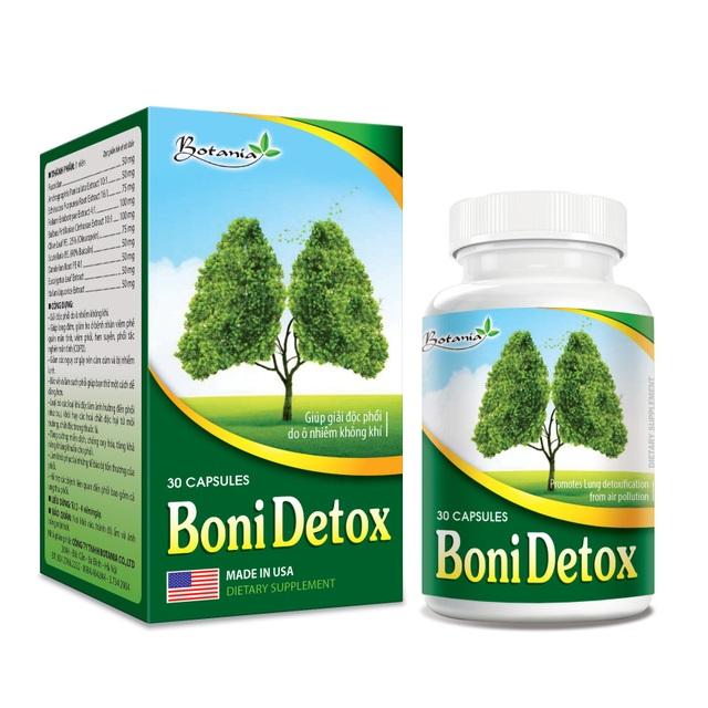 BoniDetox – Bí kíp vàng hỗ trợ giải độc phổi và giảm nguy cơ u bướu phổi của Mỹ - 5