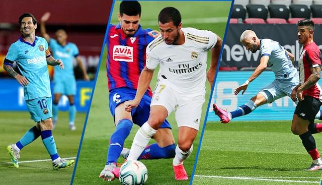 La Liga sôi động ngày trở lại sau dịch Covid-19 - 1