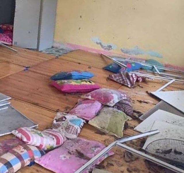 Động đất ở Lai Châu, một số học sinh mầm non bị thương, hoảng loạn - 1