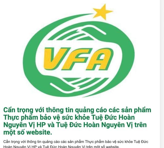 4 sản phẩm TPCN bị bêu tên vì vi phạm quảng cáo trên mạng - 1