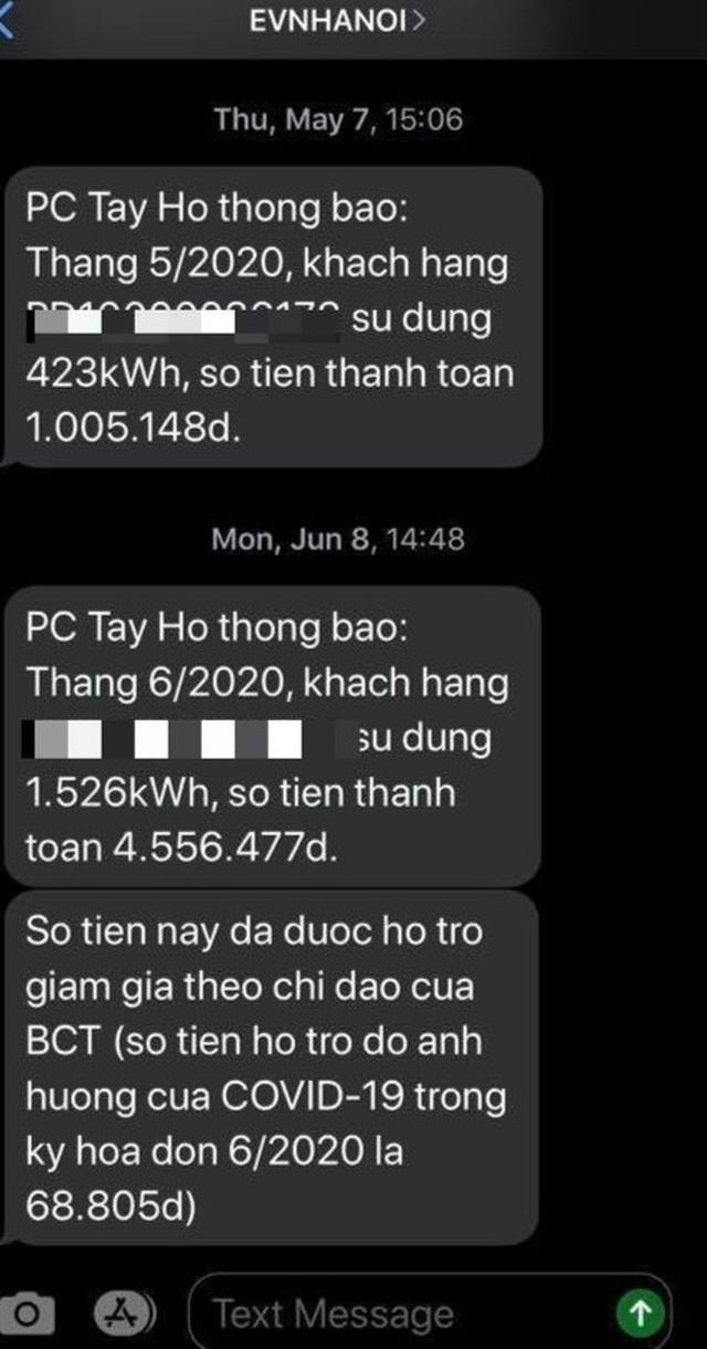 Khách hàng bất ngờ nhận hóa đơn điện tăng hơn 4 lần, EVN Hà Nội nói gì? - 1