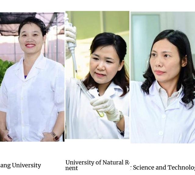 Ba nữ tiến sĩ Việt lọt top 100 nhà khoa học châu Á năm 2020 - 1