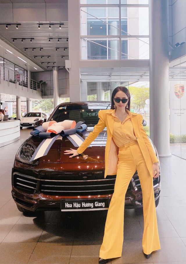 Khối tài sản đáng ngưỡng mộ của Hoa hậu Hương Giang ở tuổi 29 - 2