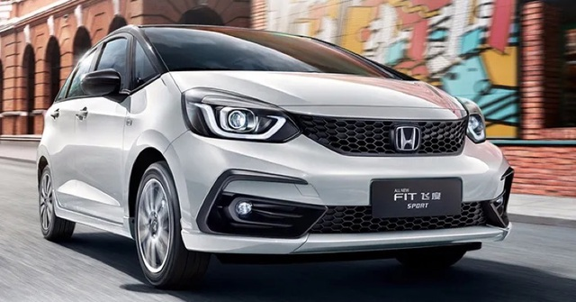Honda Jazz 2020 thay đổi diện mạo - 1