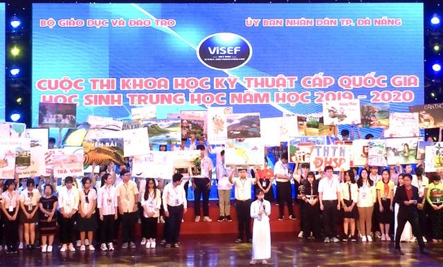 Khai mạc cuộc thi Khoa học kỹ thuật cấp quốc gia học sinh trung học - 1