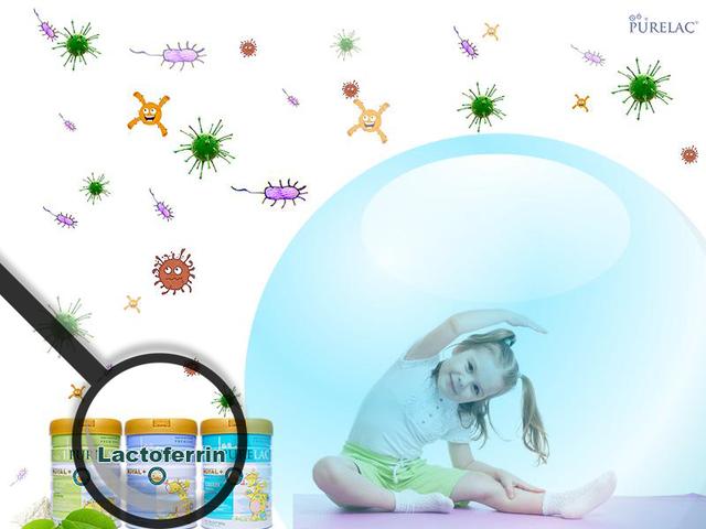 Kháng thể Lactoferrin trong sữa PureLac giúp trẻ khỏe mạnh, tránh ốm vặt - 1