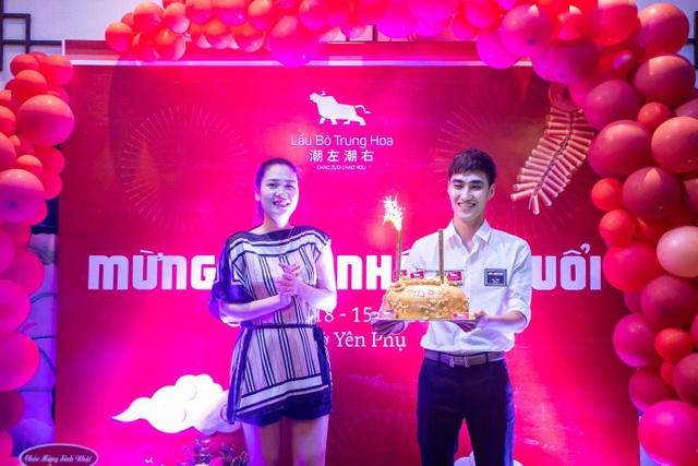 Tưng bừng sinh nhật Lẩu Bò Trung Hoa 2 tuổi: Rộn rã niềm vui, ngập tràn hạnh phúc - 1