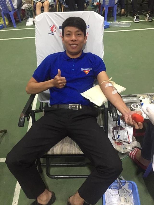 Bí thư Đoàn gần 40 lần hiến máu cứu người - 1