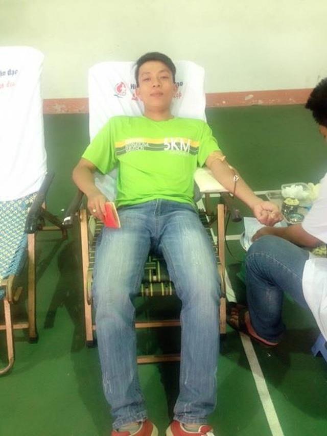 Bí thư Đoàn gần 40 lần hiến máu cứu người - 2
